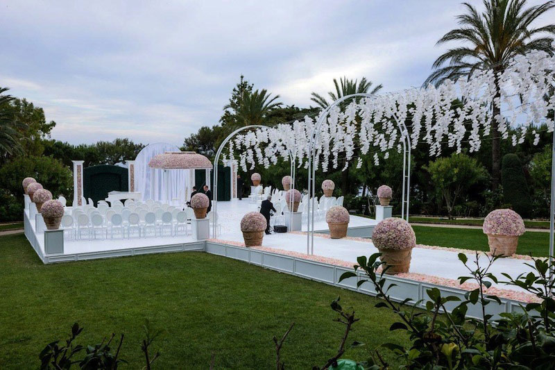 french riviera decoration, wedding decoration, luxury wedding decoration, luxury wedding decore, luxury wedding furniture