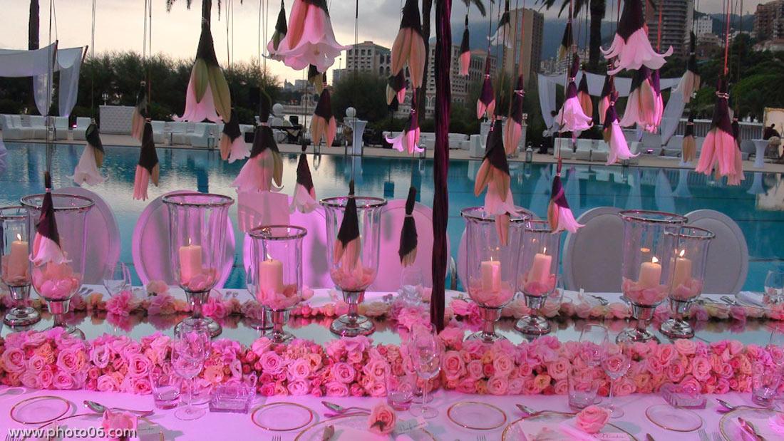 saint tropez florist, cannes florist event, saint jean cap ferrat florist event, beaulieu florist event