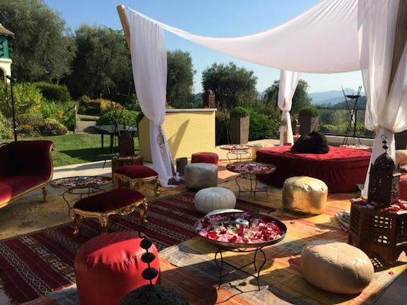 mougins, morocco party, moroccan party, birthday party,