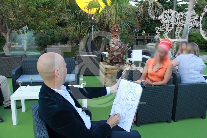 caricaturist, monaco caricaturist, cannes caricaturist, saint tropez caricaturist, nice caricaturist